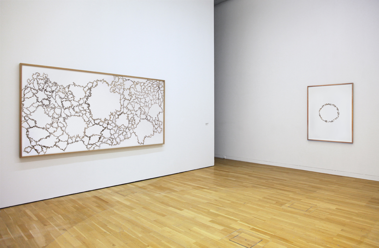 'Walk the Line: New Paths in Drawing' Kunstmuseum Wolfsburg Troika cartography of control